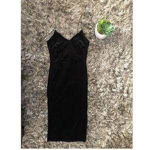 Velvet Midi Dress ✨